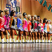 Irish Dancers at Concert Hall Glasgow. <br /> <br /> Picture Robert Perry 26th March 2018<br /> <br /> Must credit photo to Robert Perry<br /> FEE PAYABLE FOR REPRO USE<br /> FEE PAYABLE FOR ALL INTERNET USE<br /> www.robertperry.co.uk<br /> NB -This image is not to be distributed without the prior consent of the copyright holder.<br /> in using this image you agree to abide by terms and conditions as stated in this caption.<br /> All monies payable to Robert Perry<br /> <br /> (PLEASE DO NOT REMOVE THIS CAPTION)<br /> This image is intended for Editorial use (e.g. news). Any commercial or promotional use requires additional clearance. <br /> Copyright 2014 All rights protected.<br /> first use only<br /> contact details<br /> Robert Perry     <br /> 07702 631 477<br /> robertperryphotos@gmail.com<br /> no internet usage without prior consent.         <br /> Robert Perry reserves the right to pursue unauthorised use of this image . If you violate my intellectual property you may be liable for  damages, loss of income, and profits you derive from the use of this image.