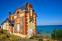 France, Manche (50), Granville, villa balneaire // France, Normandy, Manche department, Granville, seaside villa