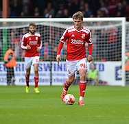 Swindon Town's John Swift during the Sky Bet League 1 match between Swindon Town and Leyton Orient at the County Ground, Swindon, England on 3 May 2015. Photo by Mark Davies.