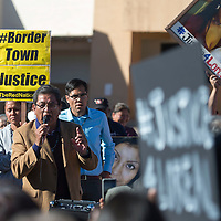 """""""Every Navajo life matters,"""" says Russell Begay, President of the Navajo Nation at the Justice for Loreal vigil in Winslow Saturday. President Begay showed his support for the Tsingine and promised to put pressure on the Winslow Police Department if the death of Loreal Tsingine is not properly investigated."""