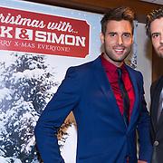 NLD/Hilversum/20130917 - Persconferentie Nick & Simon kerst cd, Nick Schilder en Simon Keizer