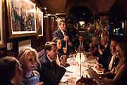 YASMIN GHANDEHARI PEDRO GIRAO, , Pedro Girao of Christies and Duncan Macintyre of Lombard Odier host the last dinner at the Old Annabels. 44 Berkeley Sq. London. 15 November 2018