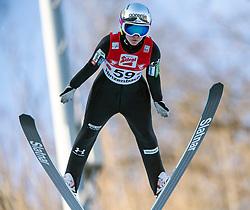 07.02.2020, Energie AG Skisprung Arena, Hinzenbach, AUT, FIS Weltcup Ski Sprung, Damen, im Bild Ema Klinec (SLO) // Ema Klinec (SLO) during the women's Jump of FIS Ski Jumping World Cup at the Energie AG Skisprung Arena in Hinzenbach, Austria on 2020/02/07. EXPA Pictures © 2020, PhotoCredit: EXPA/ Reinhard Eisenbauer