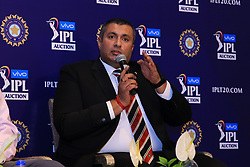 December 18, 2018 - Jaipur, Rajasthan, India - Board of Control for Cricket in India (BCCI) Treasurer Anirudh Choudhary  speak at a press conference for the Indian Premier League 2019 auction in Jaipur on December 18, 2018, as teams prepare their player rosters ahead of the upcoming Twenty20 cricket tournament next year. The 2019 edition of the IPL -- one of the world's most-watched sporting events attracting the world's top stars -- is set to take place in April and May next year.(Photo By Vishal Bhatnagar/NurPhoto) (Credit Image: © Vishal Bhatnagar/NurPhoto via ZUMA Press)
