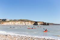Isle of Wight Kayak at Freshwater Bay