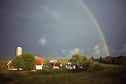 Rainbow, Family Farm, Berks County, Pennsylvania