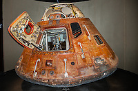 US, Florida. John F. Kennedy Space Center. Apollo 14 Command Module. Apollo/Saturn V Center.