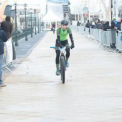 09-12-2018: Wielrennen: EK beachrace: Scheveningen Riejanne Markus