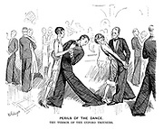 Perils of the Dance. The terror of the Oxford trousers.