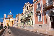 The Neo Classic buildings & Greek OrthodoxChurchof  Saint Nicholas,  Ermoupolis, Syros, Greek Cyclades Islands