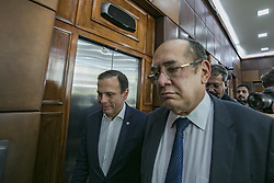July 31, 2017 - Sao Paulo, Sao Paulo, Brazil - Jul 31, 2017 - Sao Paulo, Sao Paulo, Brazil - The Brazilian Federal Supreme Court Minister, GILMAR MENDES, participated in a meeting with the mayor of Sao Paulo, JOAO DORIA, at the city hall on Monday (31), in the city center. (Credit Image: © Marcelo Chello/CJPress via ZUMA Wire)