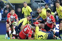 November 15 2014 Romania v Japan 1st half - Atsushi Hiwasa (L)  - Bucharest, Romania.