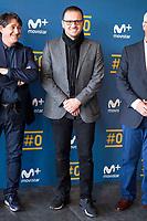 "Pedja Mijatovic during the presentation of the new tv program #0 of Movistar+ ""Caos FC"" at Ciudad del Futbol of Las Rozas in Madrid. November 21, Spain. 2016. (ALTERPHOTOS/BorjaB.Hojas)"