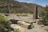 Ruins of old cottage, Wildrose Canyon, Death Valley National Park, California