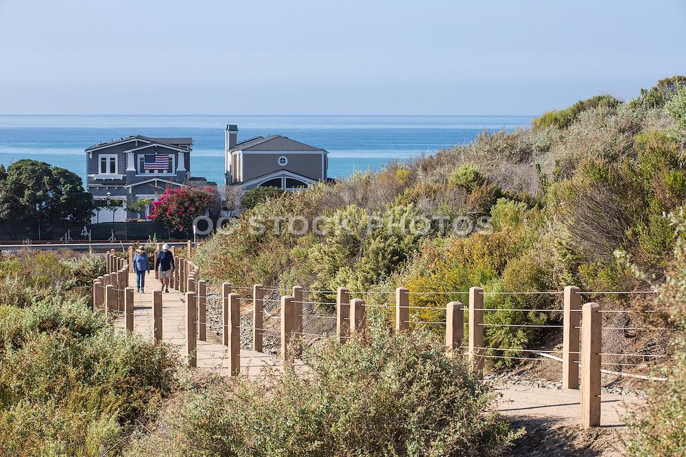 San Clemente Residents Walking the Sea Summit Trail