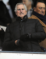Football - 2016 / 2017 FA Cup - Third Round: Aston Villa vs. Tottenham Hotspur<br /> <br /> Ray Clemence watches from the stand after his son Stephen joined Aston Villa as head coach at White Hart Lane.<br /> <br /> COLORSPORT/ANDREW COWIE