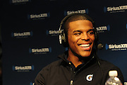 2/1/13 New Orleans LA.-NFL Super Bowl XLV11 Radio Row at the Media Center with SiriusXM radio and Cam Newton QB Panthers and LaDainian Tomlinson Maurice Jones Drew RB for the Jaguars and Casey Hayward from the Packers. Photo©Suzi Altman