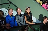 Amelie MAURESMO coach de Andy MURRAY  - 25.05.2015 - Jour 2 - Roland Garros 2015<br />Photo : Nolwenn Le Gouic / Icon Sport