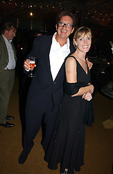 Owner of the Petersham Nurseries FRANCESCO BOGLIONE and SKYE GYNGELL at a party to celebrate the publication on 'A Year in My Kitchen' by Skye Gyngell held at The Petersham Nurseries, Petesham, Surrey on 19th October 2006.<br /><br />NON EXCLUSIVE - WORLD RIGHTS