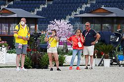 Withages Mariette, Van Laak Norbert, Michiels Inge, Van Lent Jeroen<br /> Olympic Games Tokyo 2021<br /> © Hippo Foto - Dirk Caremans<br /> 21/07/2021