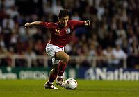 Photo: Leigh Quinnell.<br />England 'B' v Belarus. International Friendly. 25/05/2006.<br />England's Joe Cole.