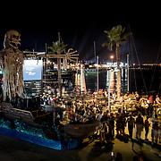 © Maria Muina I MAPFRE. Alicante Race Village opening ceremony. Moors and Christians parade. Ceremonia de apertura del Race Village de Alicante. Desfile de Moros y Cristianos.