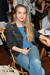 DAISY DE VILLENEUVE at a tea party to launch Grace Guru held at Sketch, 9 Conduit Street, London on 17th June 2015.