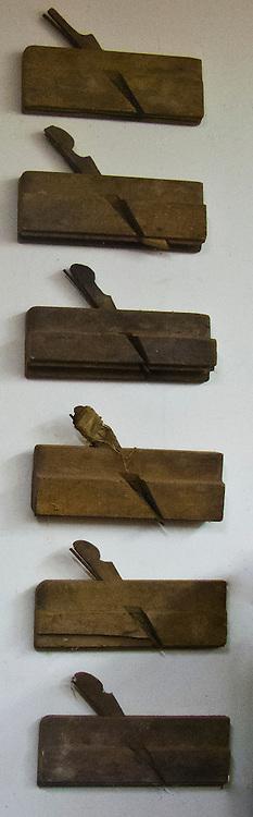 antique molding hand planes