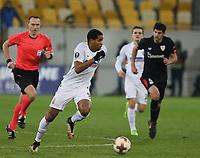 LVIV, UKRAINE - DECEMBER 07: Iury of Zorya Luhansk.  UEFA Europa League Group J match between Zorya Luhansk and Athletic Bilbao at Arena Lviv in Lviv, Ukraine. December 07, 2017