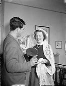 1956 Miss Verschoyle Campbell, Engagement