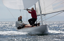 International Dragon Class Scottish Championships 2015.<br /> <br /> Day 1 racing in perfect conditions.<br /> <br /> GBR790, FLOTATION, Richard Davies, Royal Thames YC\<br /> <br /> Credit Marc Turner