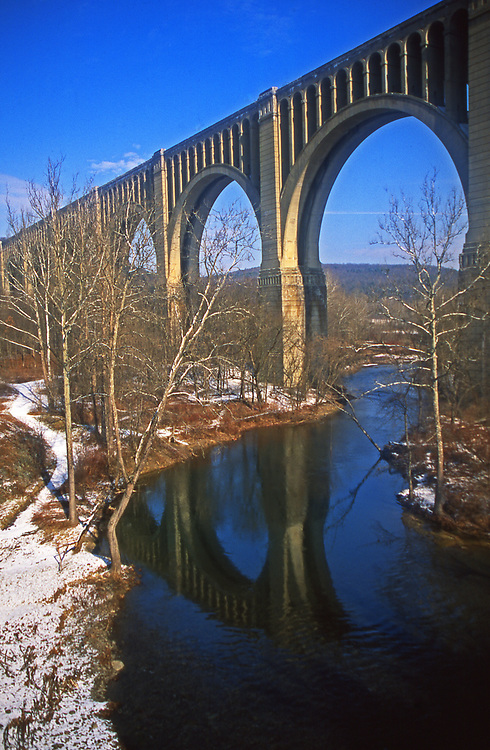 Tunkhannock Creek Viaduct, Nicholson, Wyoming Co., PA