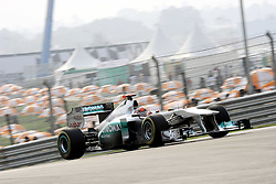 29.10.2011, Jaypee-Circuit, Noida, IND, F1, Grosser Preis von Indien, Noida, im BildMichael Schumacher (GER), Mercedes GP // during the Formula One Championships 2011 Large price of India held at the Jaypee-Circui 2011-10-29  EXPA Pictures © 2011, PhotoCredit: EXPA/ nph/  Dieter Mathis       ****** out of GER / CRO  / BEL ******