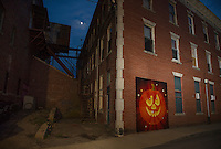 PumpCanaly is ready for Pumpkin Fest.  (Karen Bobotas/for the Laconia Daily Sun)