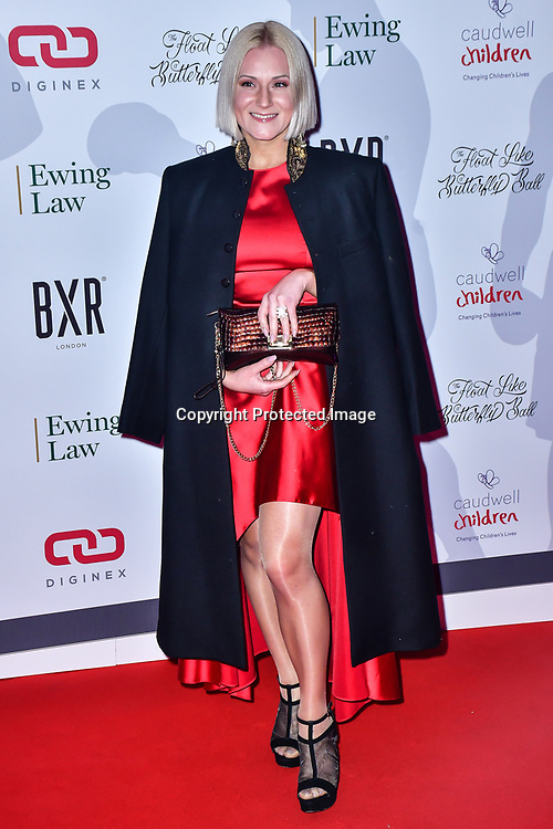 Float Like A Butterfly Ball for Caudwell Children Charity at Grosvenor House Hotel on 16 November 2019, London, UK.