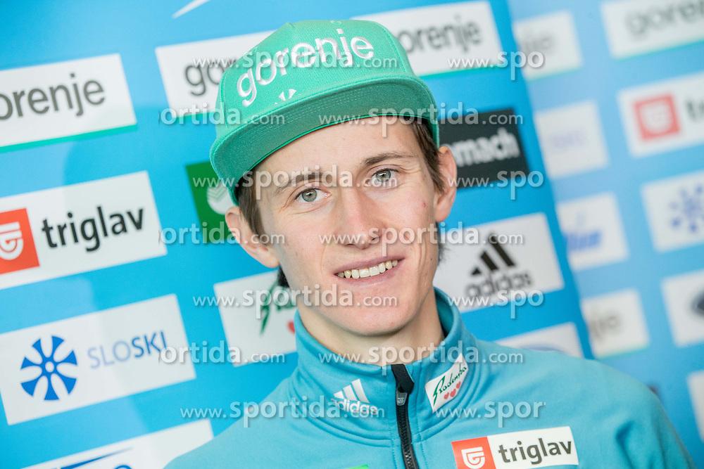 Peter Prevc during press conference of Slovenian Nordic Ski team before new season 2017/18, on November 14, 2017 in Gorenje, Ljubljana - Crnuce, Slovenia. Photo by Vid Ponikvar / Sportida