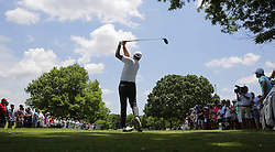 May 25, 2018 - Fort Worth, TX, USA - FORT WORTH, TX - MAY 25, 2018 - Steve Stricker tees off on the 3rd hole during the second round of the 2018 Fort Worth Invitational PGA at Colonial Country Club in Fort Worth, Texas (Credit Image: © Erich Schlegel via ZUMA Wire)