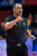 NANJING,CHINA:SEPTEMBER 5th 2019.FIBA World Cup Basketball 2019 Group phase match.Group F. New Zealand vs Greece. Paul HENARE on the sidelines.<br /> Photo by Jayne Russell / www.PhotoSport.nz