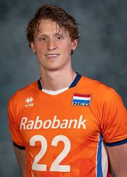 21-05-2019 NED: Team shoot Dutch volleyball team men, Arnhem<br /> Twan Wiltenburg #22 of Netherlands