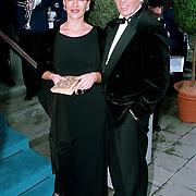 Premiere Dinnershow 2000, Ben Cramer en vrouw Carla van der Waal