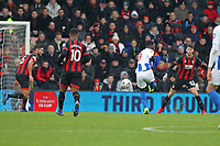 Football - 2018 / 2019 FA Cup - Third Round: AFC Bournemouth vs. Brighton & Hove Albion<br /> <br /> Yves Bissouma of Brighton fires in Brightons second goal at the Vitality Stadium (Dean Court) Bournemouth <br /> <br /> COLORSPORT/SHAUN BOGGUST