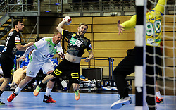Philipp Weber of Germany during handball match between National Teams of Germany and Slovenia at Day 2 of IHF Men's Tokyo Olympic  Qualification tournament, on March 13, 2021 in Max-Schmeling-Halle, Berlin, Germany. Photo by Vid Ponikvar / Sportida