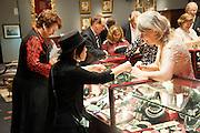 Opening of The LAPADA  Art and Antiques Fair. Berkeley Sq. London. 24 September 2013.