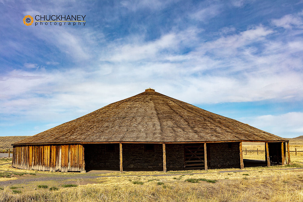 Peter French Round Barn near Diamond, Oregon, USA