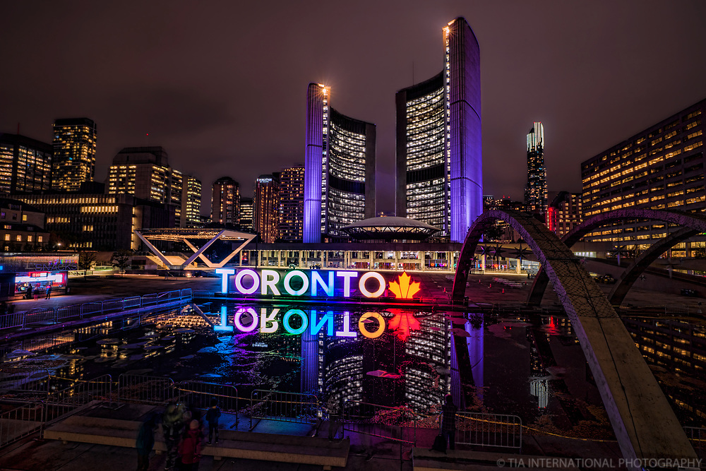 Reflecting Pool @ Nathan Phillips Square