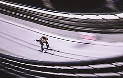 11.01.2019, Stadio del Salto, Predazzo, ITA, FIS Weltcup Skisprung, Val di Fiemme, Herren, Training, im Bild Jernej Damjan (SLO) // Jernej Damjan of Slovenia during the training jump of men's FIS Skijumping World Cup at the Stadio del Salto in Predazzo, Itali on 2019/01/11. EXPA Pictures © 2019, PhotoCredit: EXPA/ JFK