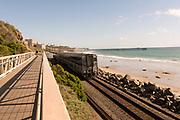 Amtrak Train Passing Through San Clemente