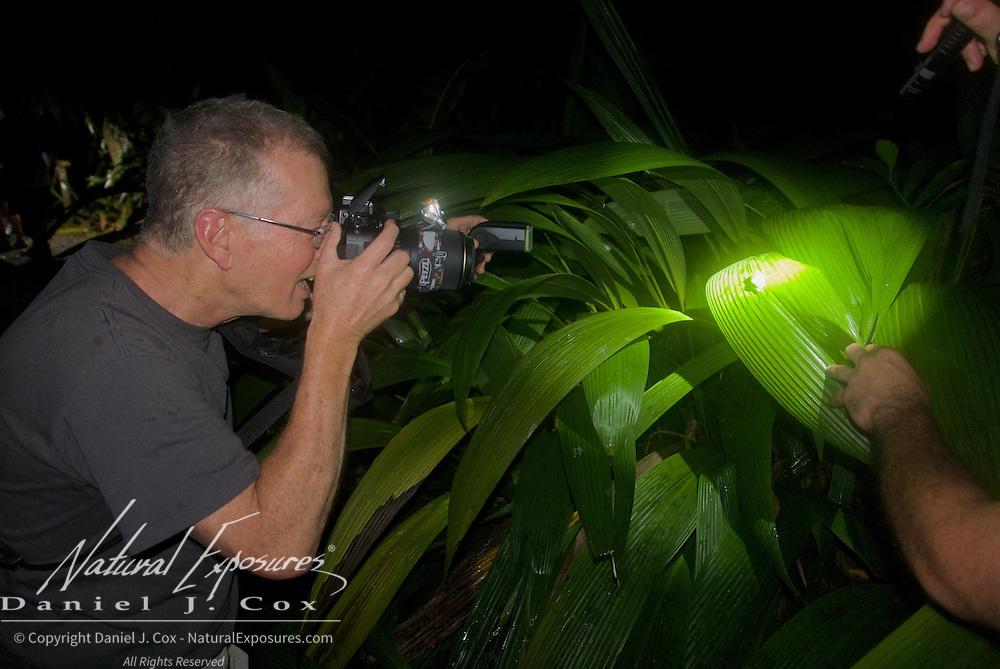 Tom getting the shot. Costa Rica.