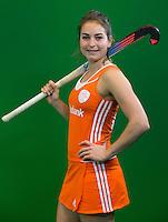 DEN BOSCH -  . Nederlands Hockeyteam  voor nieuwe platform Hockey.nl.    FOTO KOEN SUYK