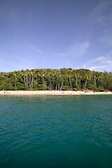 Princess Margaret Beach, a short water taxi ride from The Frangipani Hotel, Bequia 4/05